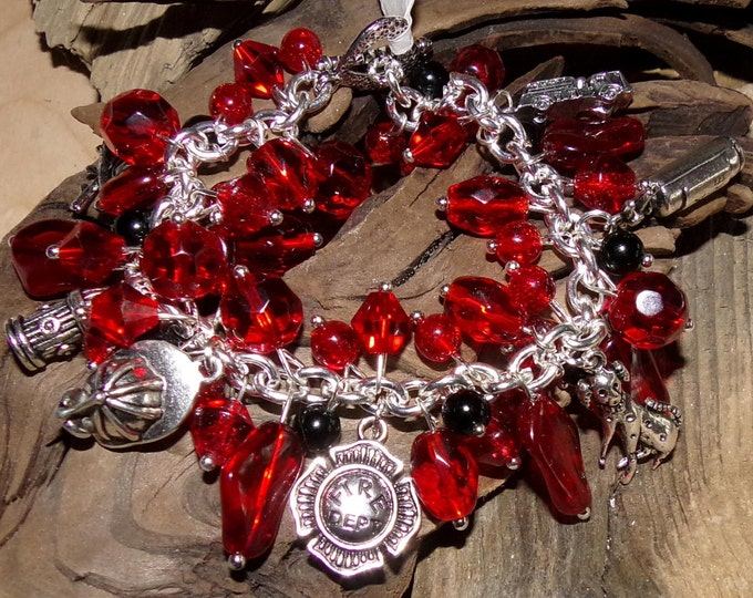 Fire Department Bracelet