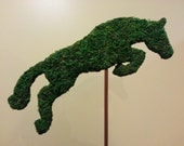 Eventing or Jumper Horse Topiary Silhouette