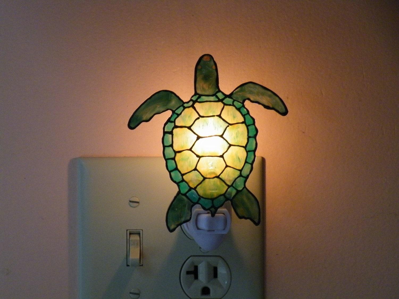 Sea turtle night light - Turtle nite light ...