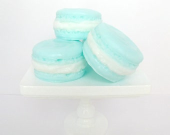 Blueberry Macaroon Soaps - 4 Set