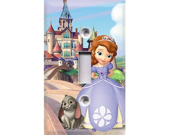 Sofia the First Light Switch Cover