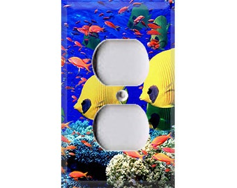Aquatic Life Style 2 Outlet Cover