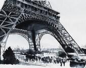 "Original watercolor painting  � ""Eiffel tower"" � Paris art - NicolasJolly"