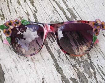 Soft Spring Floral Sunglasses