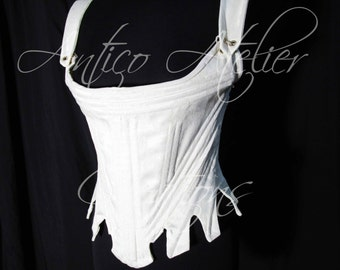 CORSET mod. 01-18 century rococò  Marie Antoinette style - undergarments XVIIIsec -