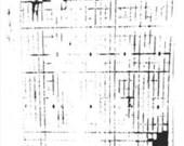Mini Sketch Grid 6x6 Stencil