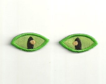 Small Cat's Eyes Patch Set! Any Color Custom Made! AP88