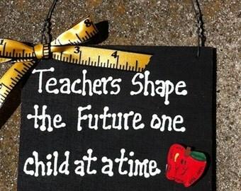 Teacher Gift  5217TS - Teachers Shape  with Ruler/Apple