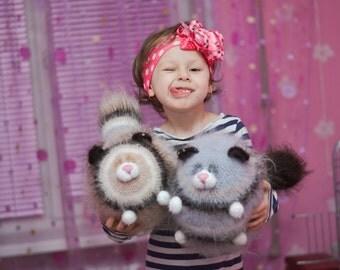 Crochet PATTERN cat 35 cm