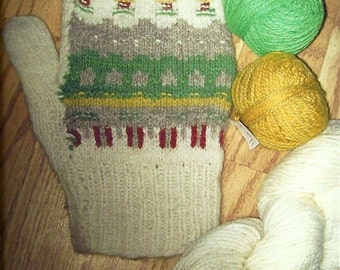 Yarn for Green Meadow Mittens or Tam