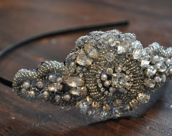 Erte (30's style beaded headpiece)