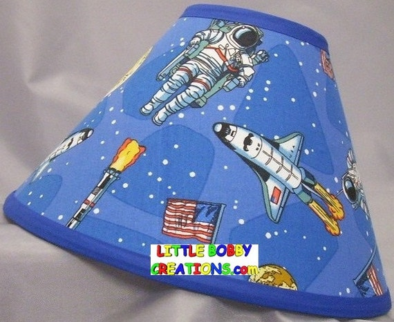 space ships space shuttle fabric lamp shade 10 sizes to