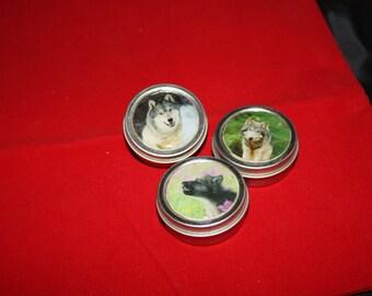 wolf tins  set of 3 OL2003