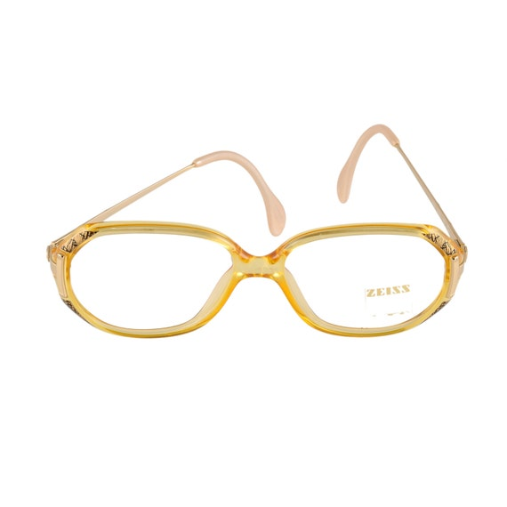 Zeiss Optical Glasses : ZEISS Eyeglasses 3243 8100 EF9 Yellow 50-14-130 by EyeQGlasses