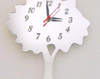 Tree Clock Mirror - 2 Sizes Available