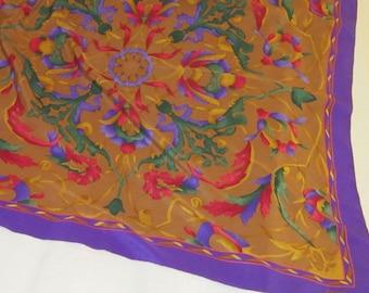 Vintage Silk Scarf by Chloe