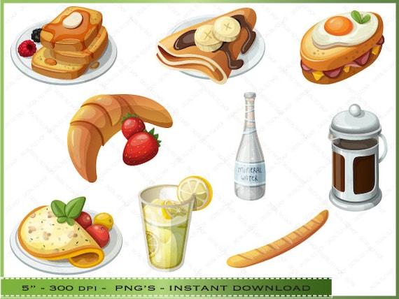 breakfast menu clipart - photo #15