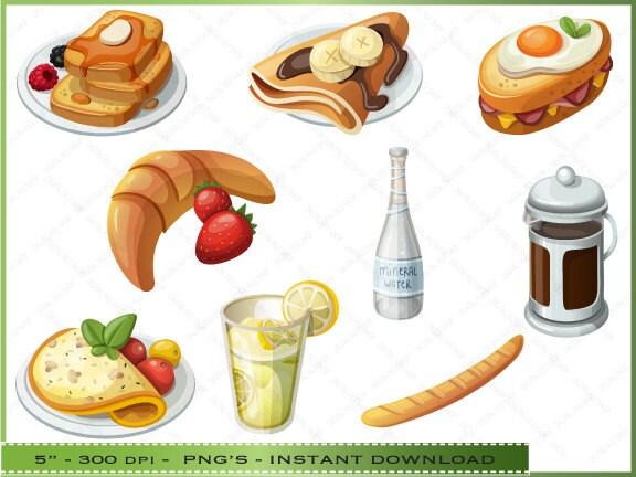 The gallery for --> Omelette Breakfast Clipart