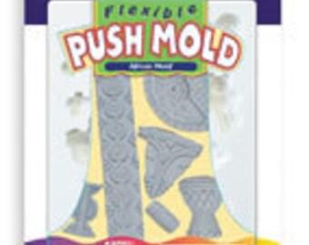 Sculpey Push Mold  African Motif