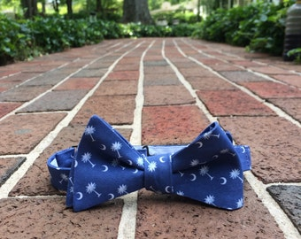 South Carolina Palmetto Tree Bow Tie