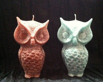 Owl Scented Candles!