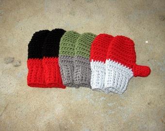 BOYS Crochet Pattern, mitten pattern, crochet mitten pattern, crochet glove pattern, mittens, gloves, kids mitten, toddler mitten, kid glove