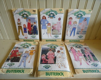 Sewing Patterns, Cabbage Patch Kids Clothes, Sewing Patterns For Girls, Cabbage Patch Clothes, Butterick Patterns, Sewing Patterns Vintage