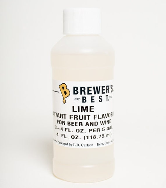 Lime  Flavoring Extract For  Home Wine Making Beer Making 4 Ounces