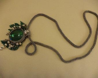 "Necklace ""Lily"" handmade jewelry"