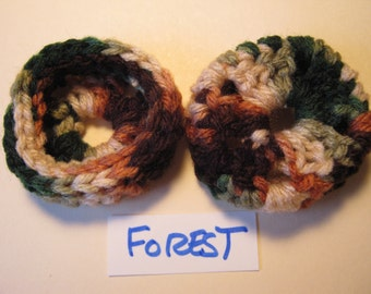Forest  Ear Pads/Cushions/Cookies for Phone Headset, Call Center, Hand-made, NEW.