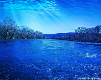 Landscape Photography- Fine Art Photography-River Photography- 8x12 Print