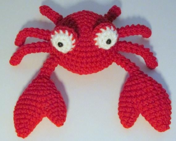Amigurumi Crab : Amigurumi Crab PDF Crochet Pattern INSTANT DOWNLOAD from ...
