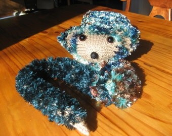 Hand Knitted Possum Scarf(8)