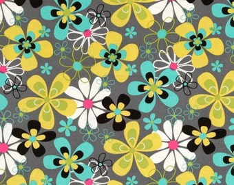 1 yard Michael Miller Far Out Floral
