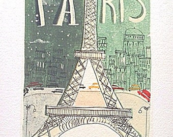 Paris limited edition print