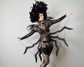 Custom Black Widow Spider Costume