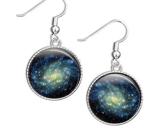 Space Earrings, Space Jewellery, Science Jewelry, Galaxy Space Earrings - Galaxy Jewellery (SPSJ1)
