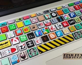 MacBook Keyborad protector Keyboard Skin Macbook Keyboard Decal Macbook Pro Macbook Air Sticker apple wireless keyboard  mingpai