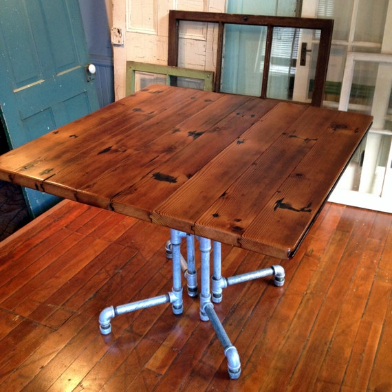 Items Similar To Reclaimed Barnwood Dining Table