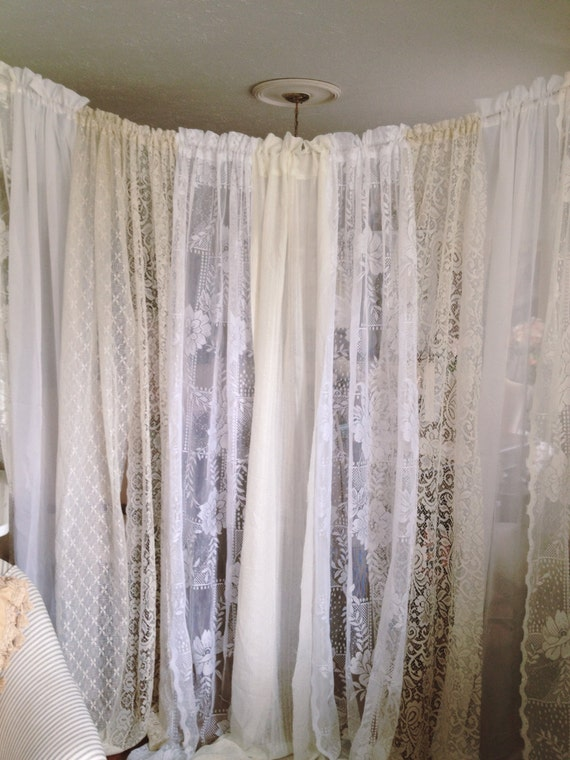 Items Similar To Stunning Lace Wedding Backdrop 10 Ft