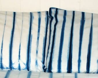 Hand Dyed Pillowcases Bohemian Bedding Dorm Bedding Shibori Bedding Tie Dye Bedding Standard Full Queen King