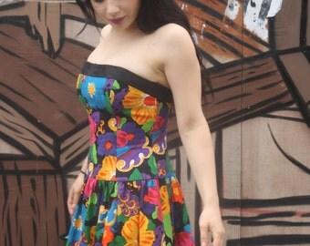 Vintage 1980's AJ BARI dress size 10