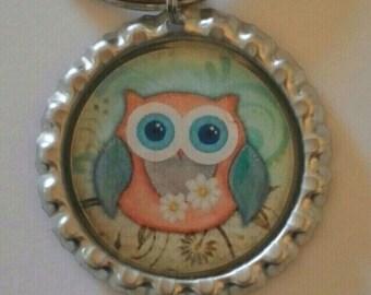 Owl Keychain Owl Lover Gift