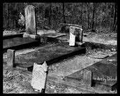 Graveyard Photography, 8x10 Art Print - ArtbyOrlando