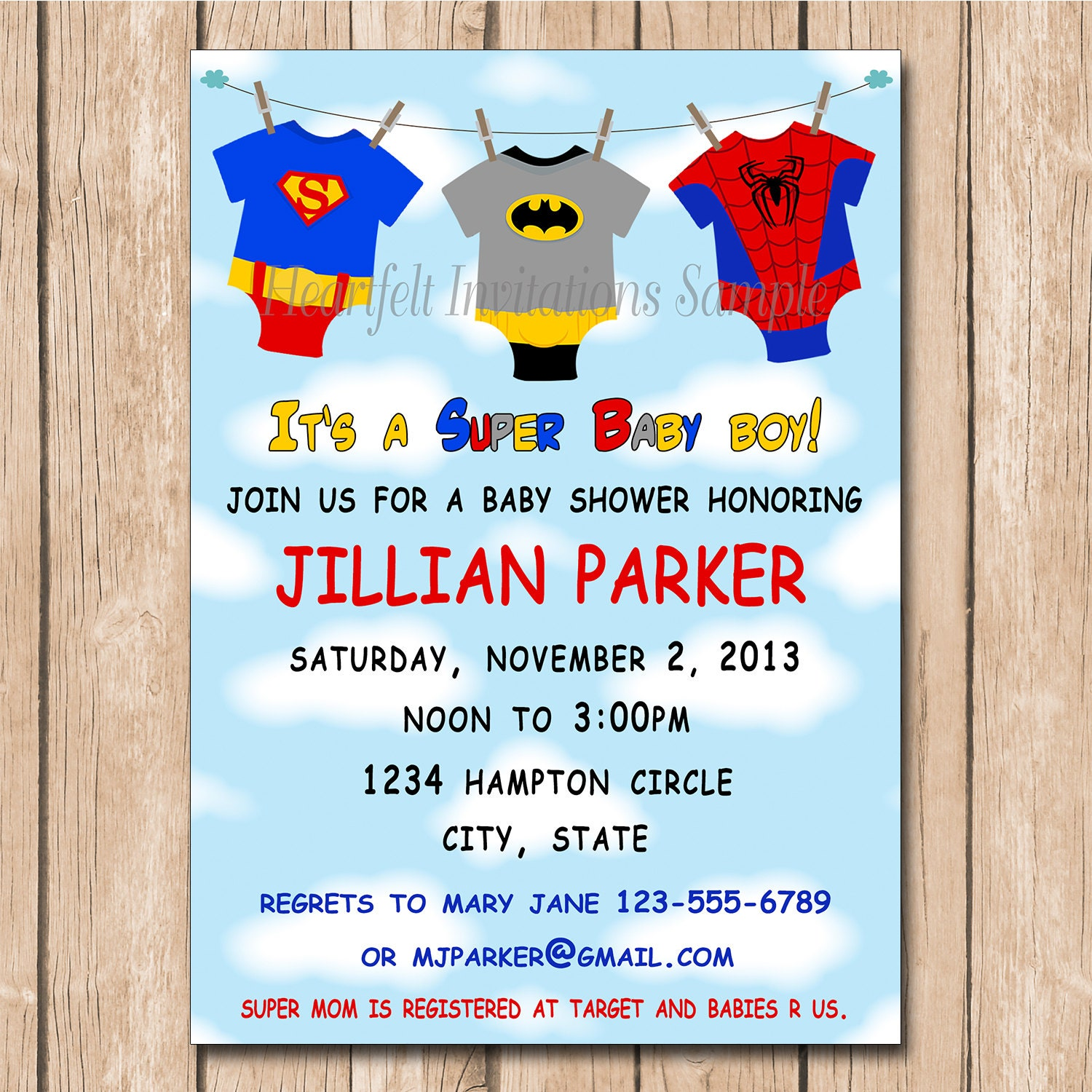 Order Baby Shower Invitations Online | alesi.info