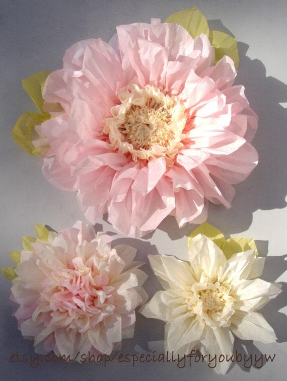 Large tissue paper flower decorations idealstalist large tissue paper flower decorations mightylinksfo