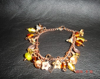 Fall Leaves in Copper