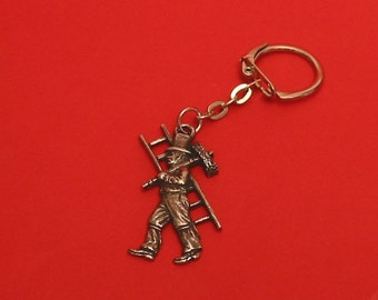 Chimney Sweep Motif Key-Ring Good Luck Wedding Gift