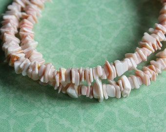 Vintage Perfectly Pink Shell Spacers