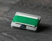 Metal wallet, credit card wallet, men's and women's wallet, aluminum slim wallet, minimalist wallet, modern design wallet, N wallet